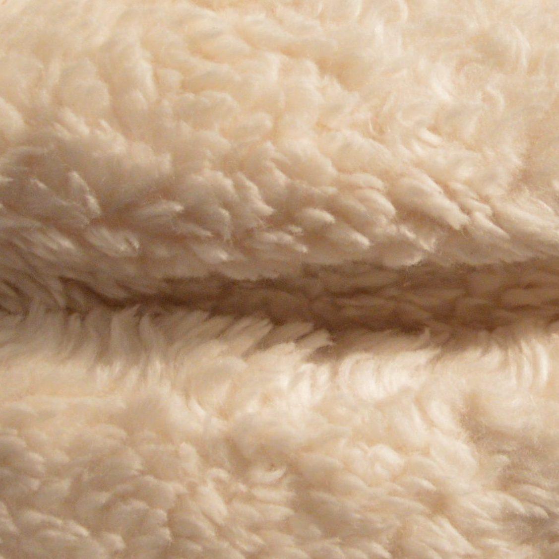 Tissu Peau D'agneau En Coton Bio