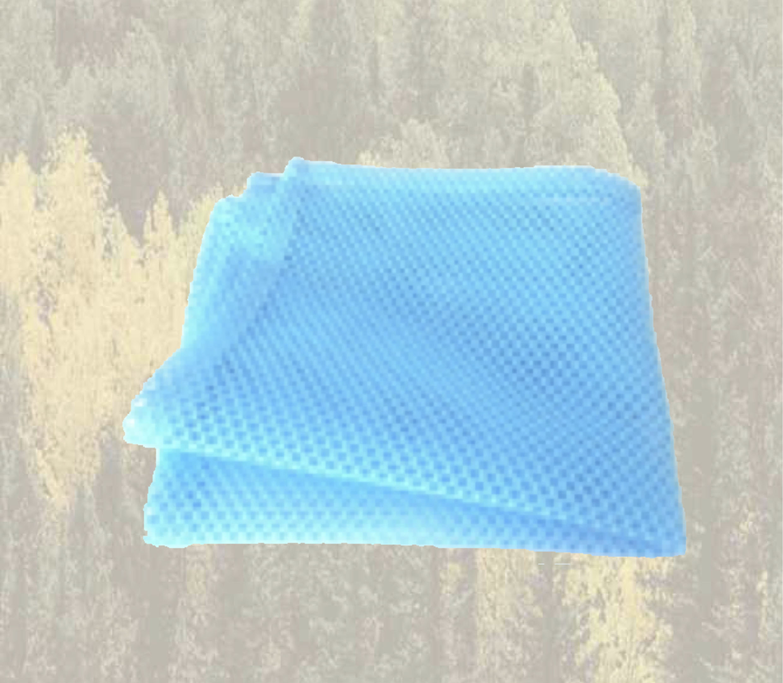 Filet micrograttant bleu