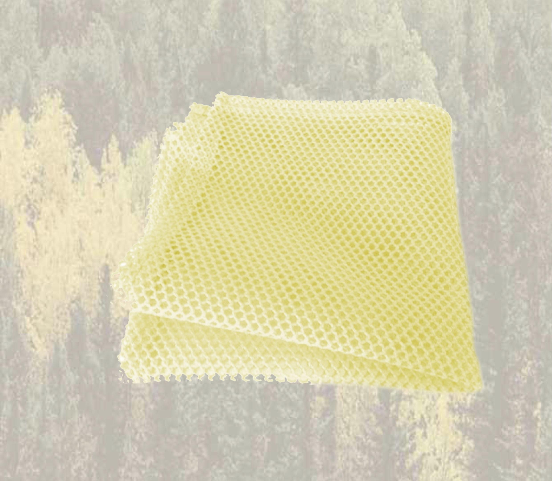 filet micro grattant jaune